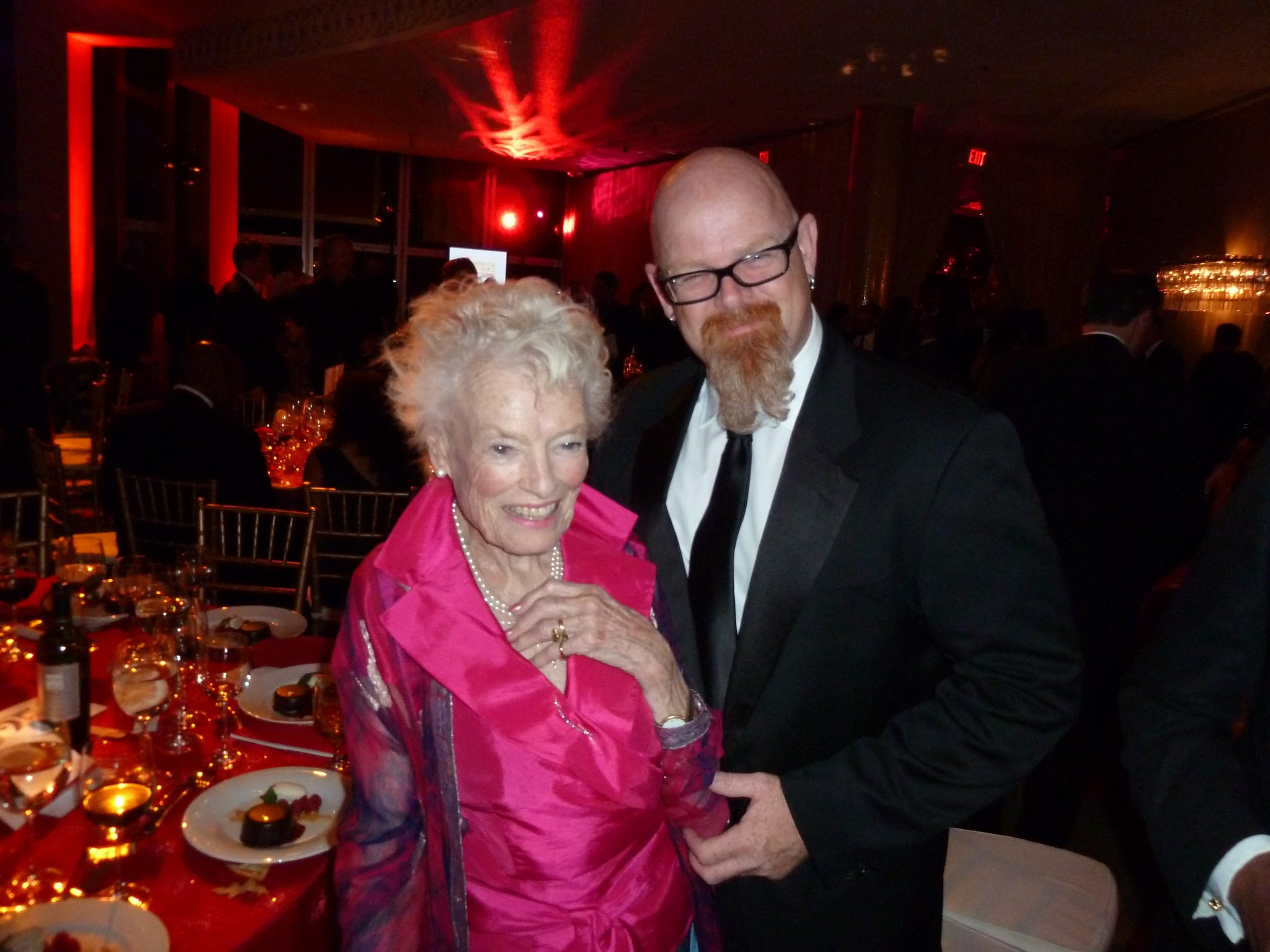 With Eve BRANSON