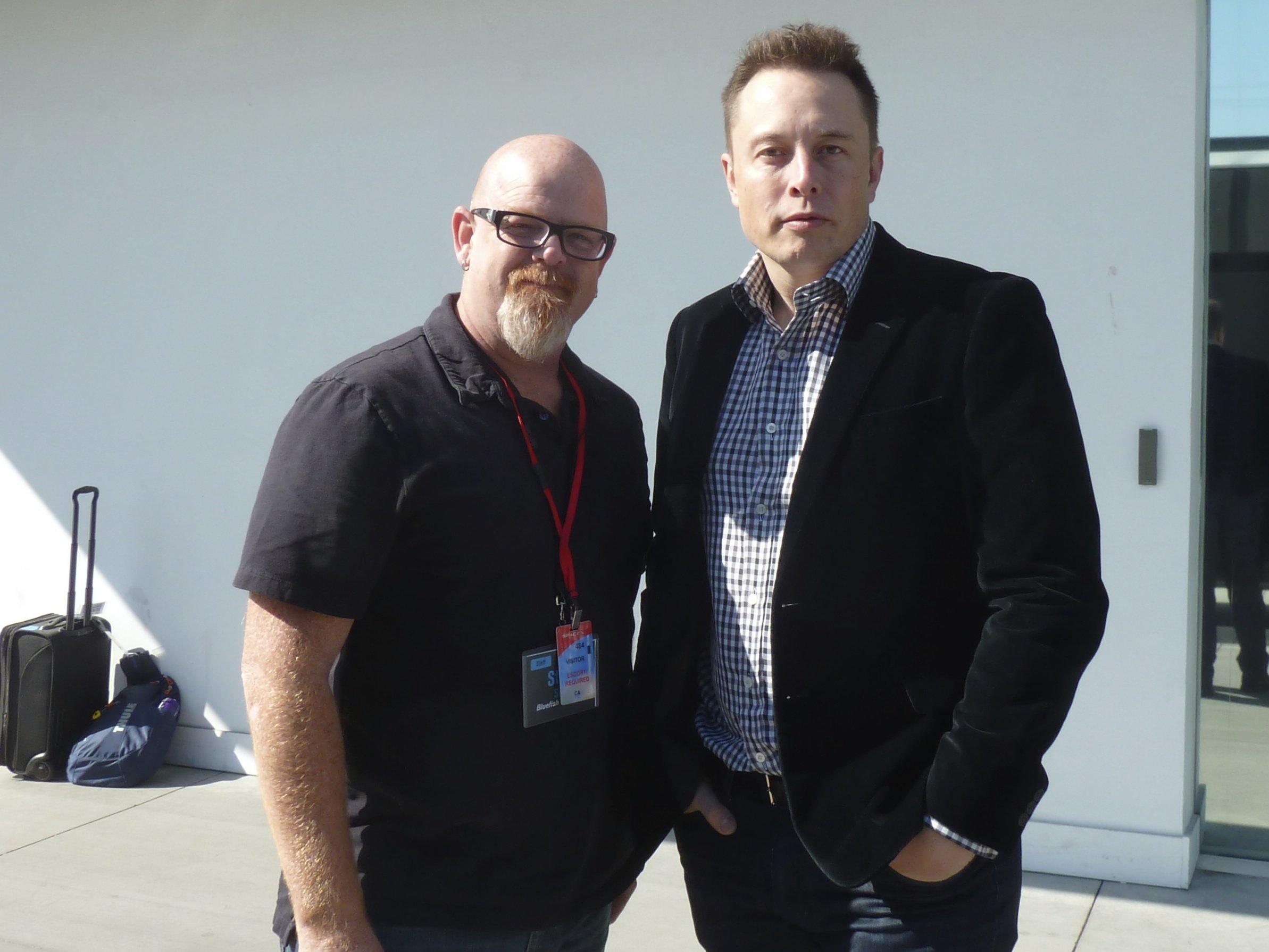 With Elon MUSK