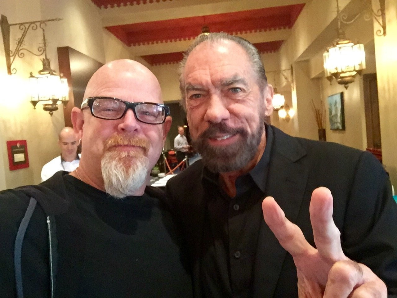 With John Paul DeJORIA